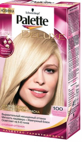Schwarzkopf Palette Deluxe Sac Boyasi 100 Platin Sari Platin