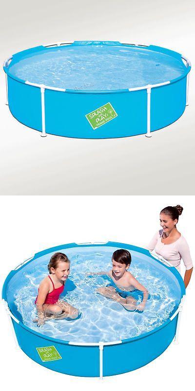 Inflatable And Kid Pools 116407 My First Frame Pool 60 X15 Mini Round Kids Wading Kiddie Swimming Pool Blue Buy It Now Only 42 99 O Kid Pool Pool Bestway