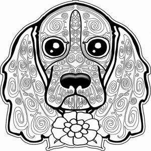 Mandalas Para Colorear Dog Coloring Page Dog Coloring Book