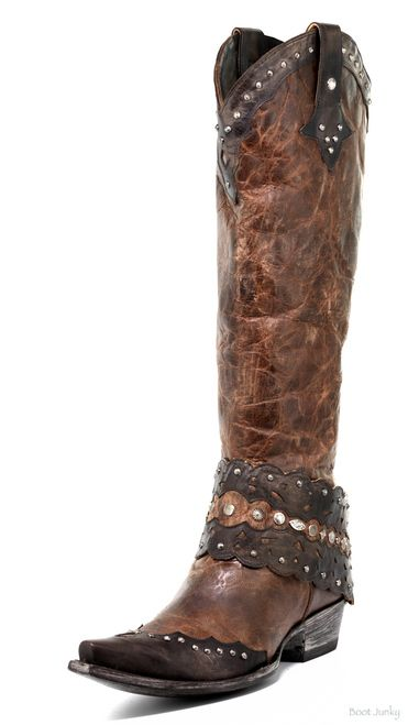 b1a61eadc3d L2657-1 old gringo jerely oryx/chocolate tall leather boot in 2019 ...