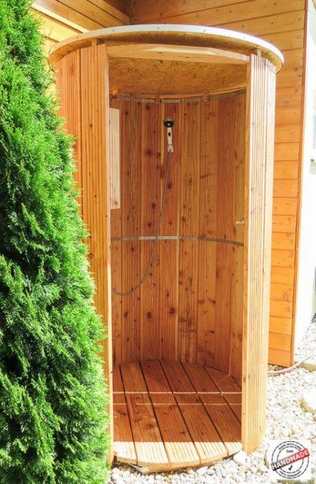Diy Outdoor Shower With Hot Water 16 Ideas Diy With Images