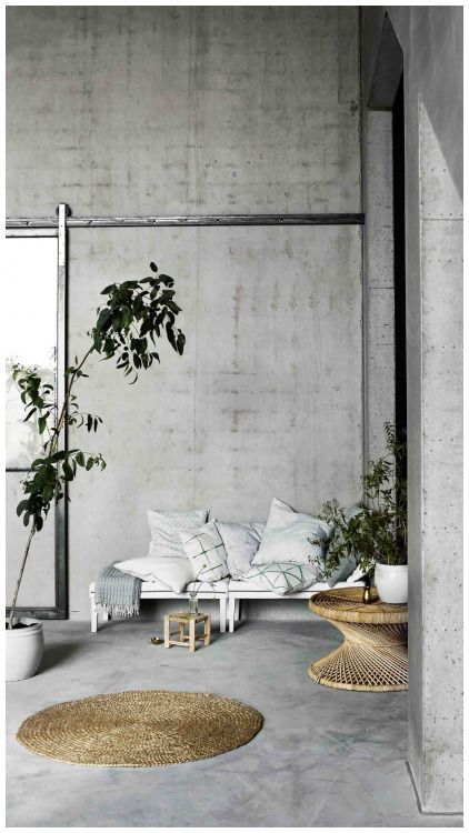 30 Concrete Wall Interior Design Wallpapers Tinek Concrete Wall Interior Design Concrete Walls Interior Interior Wall Design