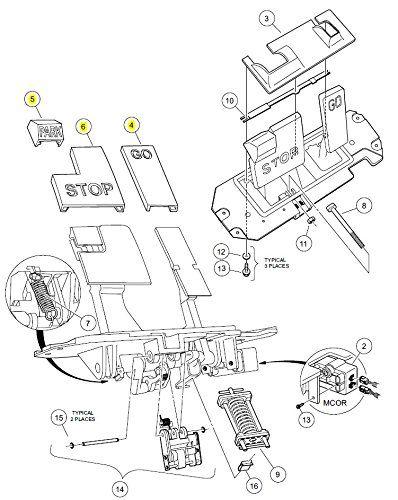 2008 club car iq wiring diagram 48v