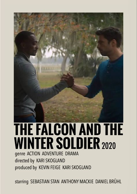 The falcon and the winter soldier by Millie