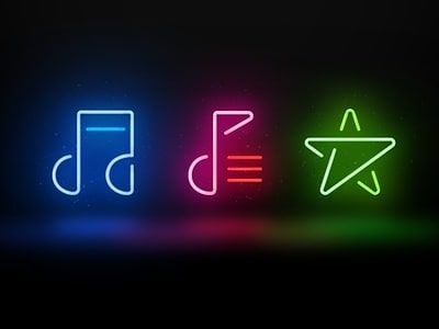 Deephouse Music Spotify Playlists Lovemusic Instamusic Neon Music Icon App Covers