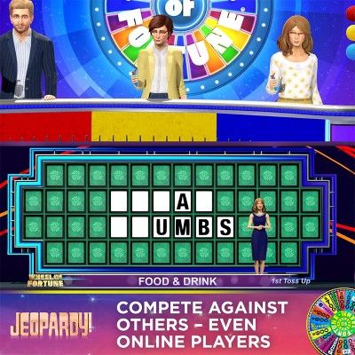 Americau0027s Greatest Game Shows Wheel of Fortune \ Jeopardy - jeopardy powerpoint template