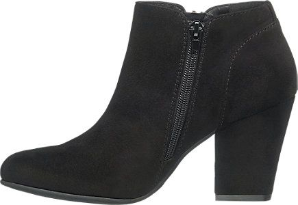 Czarne Botki Damskie Na Obcasie Graceland 1160156 Deichmann Com Shoes Ankle Boot Boots