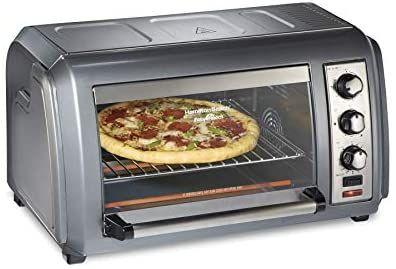 Hamilton Beach Countertop Convection Toaster Oven With Easy Reach