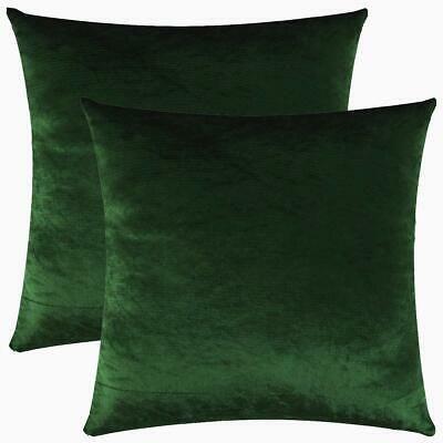 green velvet cushion covers uk
