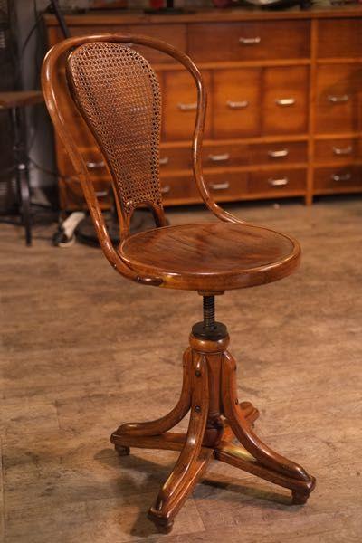 Thonet Bureau Stoel.Chaise Thonet De Bureau 1900 Chair In 2019 Furniture Design