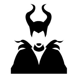 Maleficent Stencil In 2019 Halloween Pumpkin Stencils