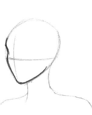 Anime Face Shapes Sketch Materi Pelajaran 5 In 2020 Anime Face Shapes Face Shapes Rectangle Glass