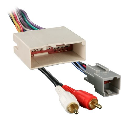 Metra 70-5521 Radio Wiring Harness for Ford 03-Up Amp ... on