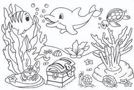 Resultado De Imagem Para Desenho De Pedras Fundo Do Mar Para