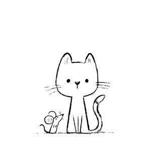 Katzenskizze Von Chris Chatterton Learning To Draw Chatterton