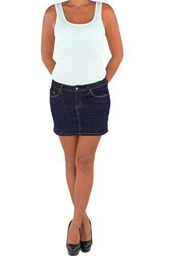 new lower prices latest design hot sale online Damen Jeans Minirock Mini Rock Jeansrock Sommerrock Hüft ...