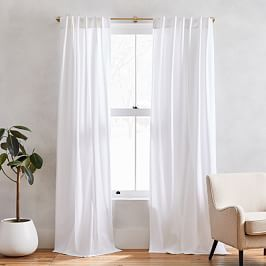 Cotton Textured Weave Curtain Amp Blackout Lining Ivory In