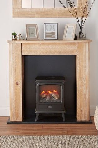 Buy Huxley Fireplace Surround From The Next Uk Online Shop Freestanding Fireplace Fireplace Surrounds Wooden Fireplace Surround