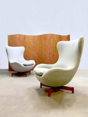 Enjoyable Vintage Wingback Egg Chair 1950S For Sale At Pamono Mid Home Interior And Landscaping Synyenasavecom