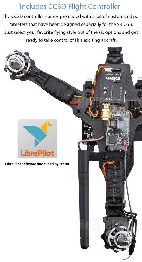 STORM Racing Drone (RTF / SRD-Y3 / CC3D)