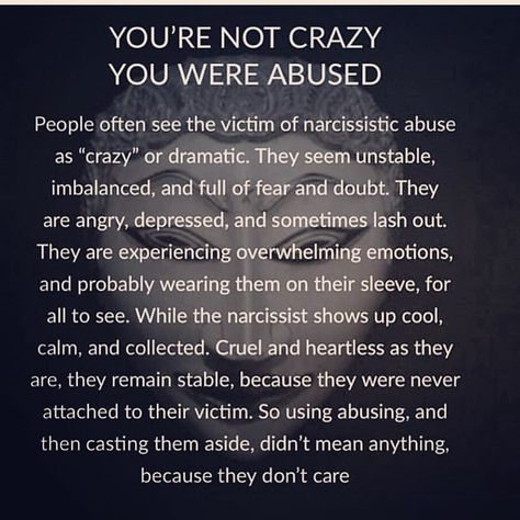 So true #thismorning #narcissisticabuserecovery #gaslighting #mentoo #narcfree #abusevictimshealing #narcissisticabuse #loosewomen