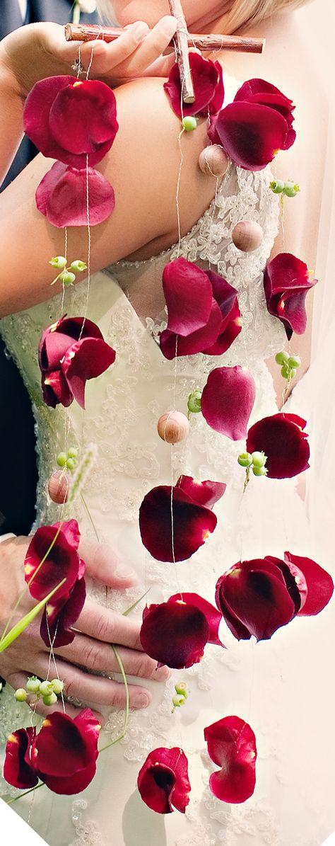 hanging petals for the candelabrum