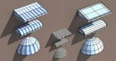 Awnings Motorizedawnings Retractableawnings Shopawnings Gardenawnings Patioawnings Fabric Structure Low Poly Models House 3d Model
