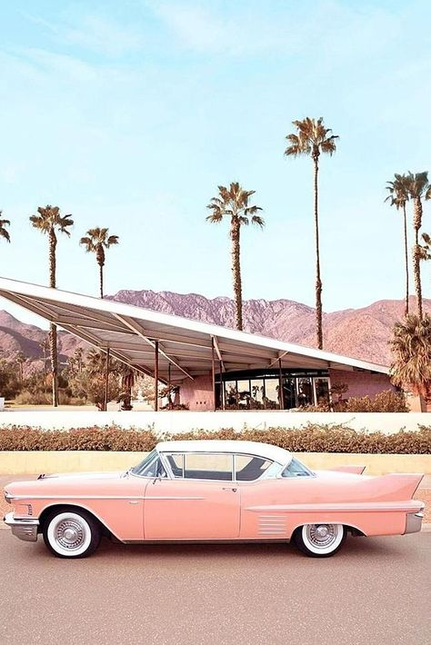 best honeymoon spots palm springs california stylish photo vintage car What are your dream top honeymoon destinations? Hawaii to Caribbean, romantic or adventurous. Check the post for the best honeymoon spots! Beach Aesthetic, Summer Aesthetic, Aesthetic Vintage, Aesthetic Photo, Aesthetic Pictures, Pink Aesthetic, Bedroom Wall Collage, Photo Wall Collage, Picture Wall