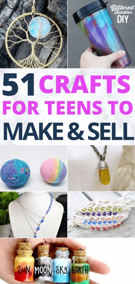 50+ More crafts for teens to make and sell