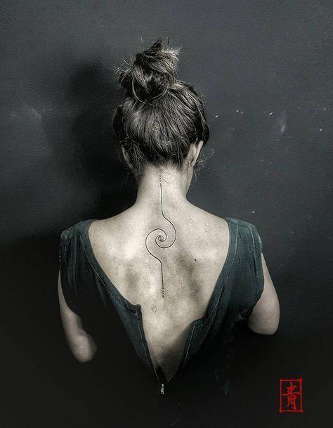 Dna Ink Tattoo Studio Denia Alicante Valencia Spain Bohemian Tattoo Style Art Lines Geometric Fibonacc Bohemian Tattoo Spiral Tattoos Fibonacci Tattoo