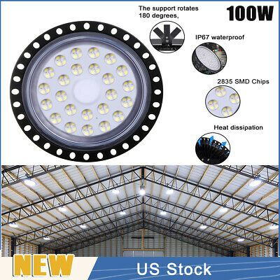 Sponsored Ebay 100w Led High Bay Light Cool White Warehouse Industrial Football Factory Indoor In 2020 High Bay Lighting Bay Lights Building Materials