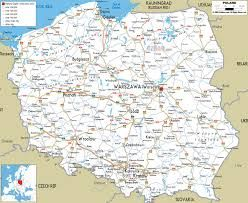 Znalezione Obrazy Dla Zapytania Szczegolowa Mapa Polski Mapa