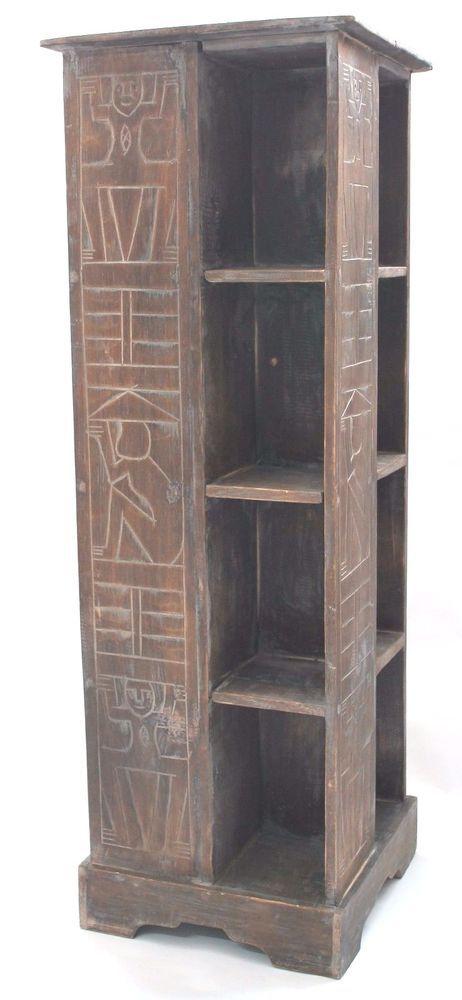 Schrank Kommode Regal 100 Cm Grau Sideboard Afrika Schwarz Krieger Kleinmobel Mobel Wohnen Mobel Schranke Wandschranke Ebay Schrank Kleinmobel Regal