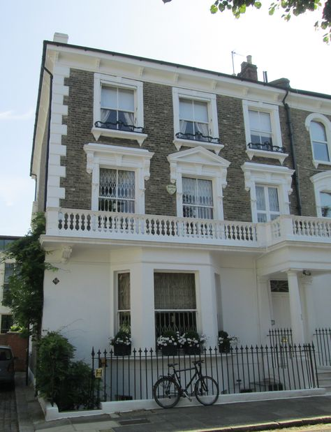 Former home of Russian spy Kim Philby, 18 Carlyle Square, London