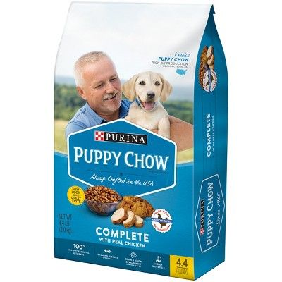 Purina Puppy Chow Complete Dry Dog Food 4 4lbs Purina Puppy Chow Purina Puppy Chow Complete Puppy Chow