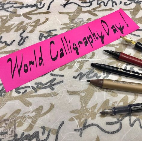 It's✒️World Calligraphy Day🖋 Stop by and see us at #CreativeColdsnow for your #calligraphy pen needs! What pens do you use for calligraphy?  #westport #overlandpark #kansascity #worldcalligraphyday #pen #penandink #ink #artsupplies #art #kcart #kansascityart #kccalligraphy #familyowned #localbusiness #smallbusiness #supportsmallbusiness #shopl