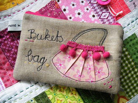 Cute zippered bag