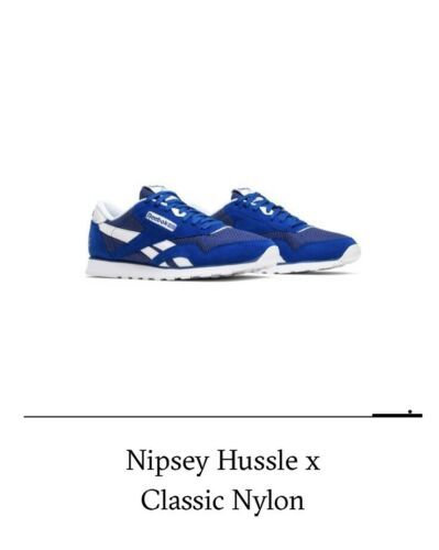 899c381d Details about Nipsey Hussle Reebok Size 12 Blue (cn4521) New In Box ...