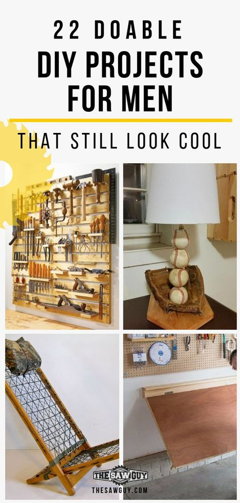 22 Doable DIY Projects for Men That Still Look Cool - The Saw Guy