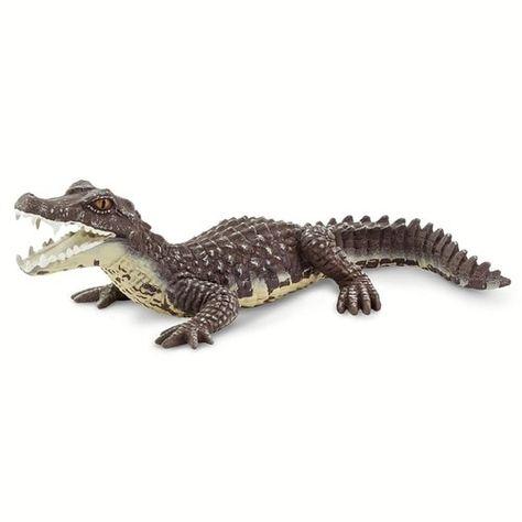 Papo Nile Crocodile Figurine Wild Animals Toy Figure Toys Brand New Free