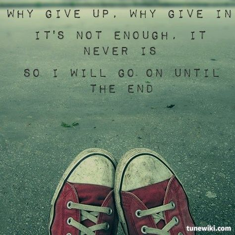 "-- #LyricArt for ""Until The End"" by Breaking Benjamin"