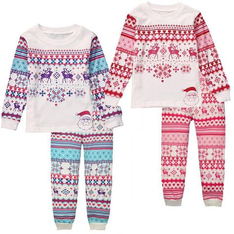 2pcs Kids Baby Boys Girls Clothes Top+pants Cotton Baby Pajamas Sleepwear Outfit