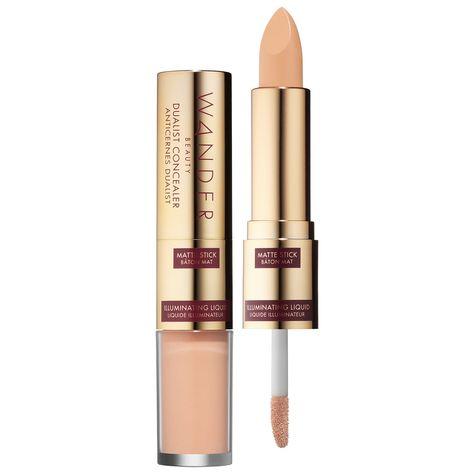 Dualist Matte and Illuminating Concealer - Wander Beauty | Sephora - Travel Accessories - Makeup Inspiration