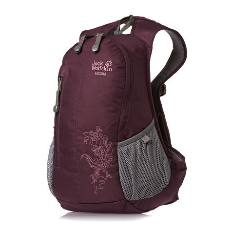 1497ce8dd45b Women s Jack Wolfskin Backpacks - Jack Wolfskin Ancona 13L Backpack - Dark  Berry