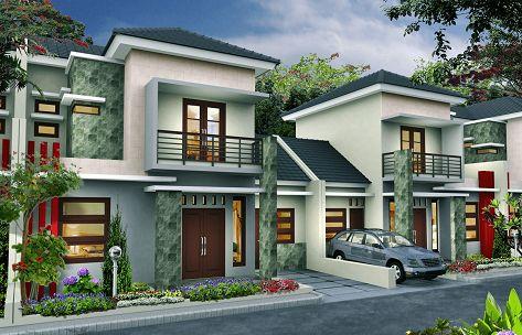desain rumah minimalis type 90 dua lantai | house styles