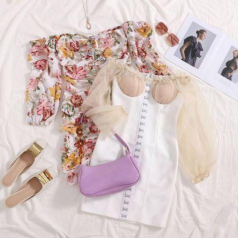 Floral Print Knotted Bardot Dress