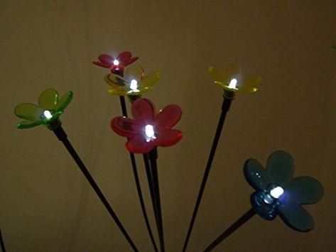 Solar LED Windspiel Licht Garten Hangeleuchte Spinner Solarlampe Farbwechsel