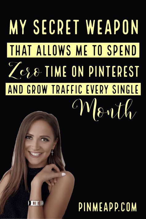 My secret weapon that allows me to spend zero time on Pinterest and grow traffic every single month | PinMeApp | business tip | business idea | business | start business | business planning | business to start | own your own business | your own business | home business | start own business | entrepreneur business | start a business | starting an online business | starting your own business ideas | owning a business #businesstip #pinteresttips #pinterestmarketing #onlinebusiness #entrepreneur