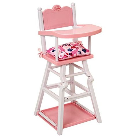 Corolle Les Classiques Nursery High Chair Corolle Http Www Amazon Com Dp B006pdwebo Ref Cm Sw R Pi Dp Id4iub0n Doll High Chair High Chair Baby Doll Furniture