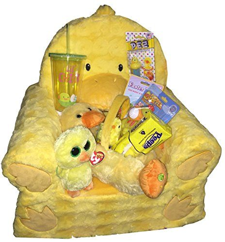 45 best best easter basket gifts ever images on pinterest lil chick animal adventure sweet seat duck chair ultimate easter gift basket bundle for toddlers includes ty beanie boo chick nugget easter stuffers negle Images
